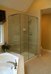 Glass Shower Stall